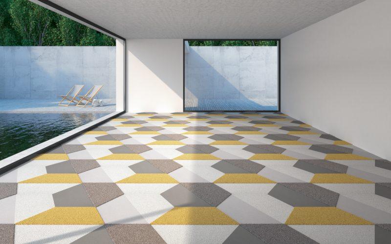 Vorwerk Teppichfliesen Kollektion TEXtiles SL //Forms Trapez